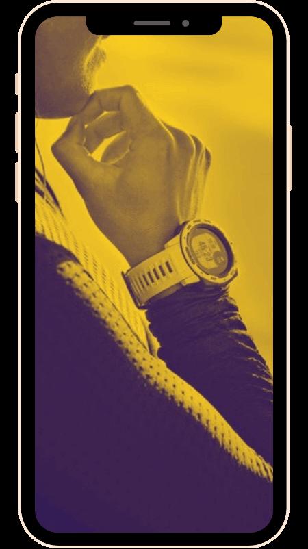 KANARA Sport Smartwatch Garmin Suunto Compatible